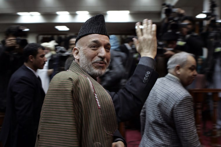 Image: Hamid Karzai