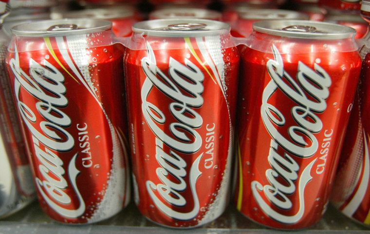 Image: Coke Classic cans