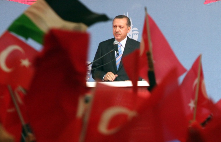 Image: Turkish Prime Minister Recep Tayyip Erdogan