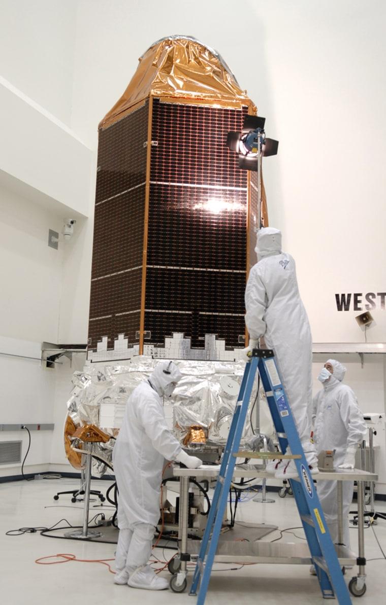 Image:  NASA's Kepler spacecraft