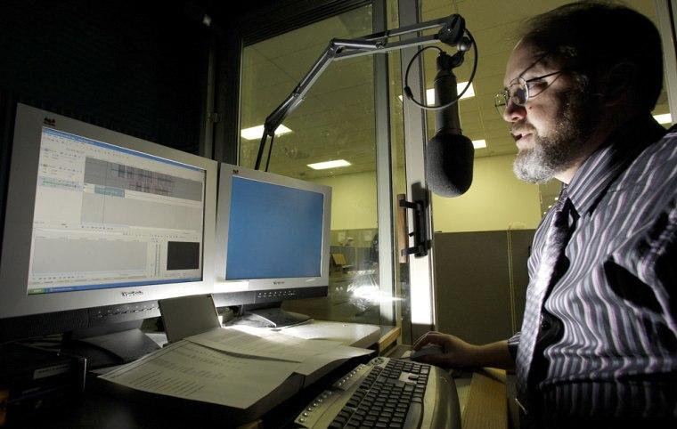 Image: Radio story