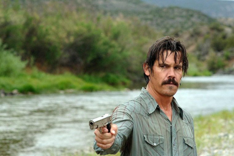 """Image: Josh Brolin as Llewelyn Moss in """"No Country for Old Men"""""""