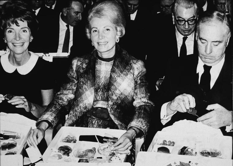 Image: Nancy Reagan, Leonore Anneberg, Walter Annenberg