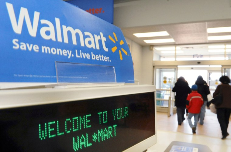 Wal-Mart announced its position in a letter to congressional and administration officials Tuesday. It was joined by a major labor union that sometimes has criticized Wal-Mart as stingy with employee benefits.