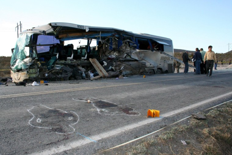 Ten die in Mexican accident