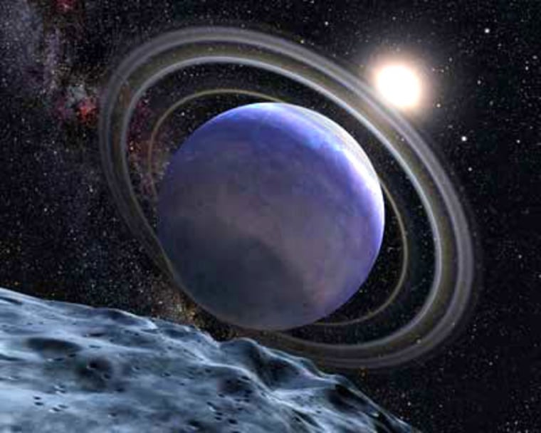 Image: giant planet HR 8799b