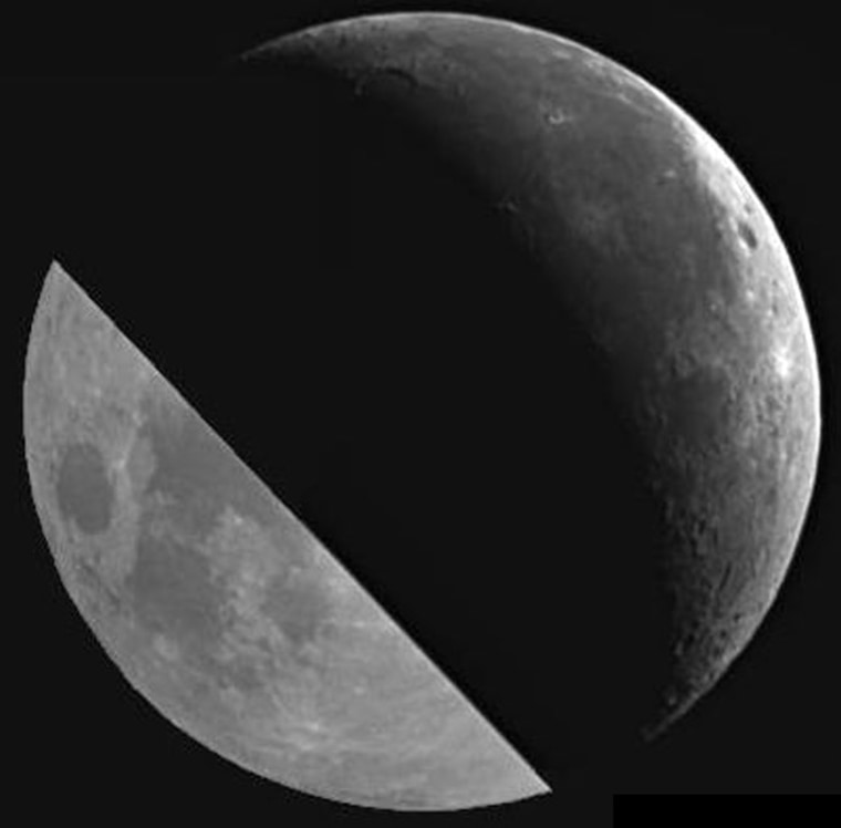 Image: The moon.