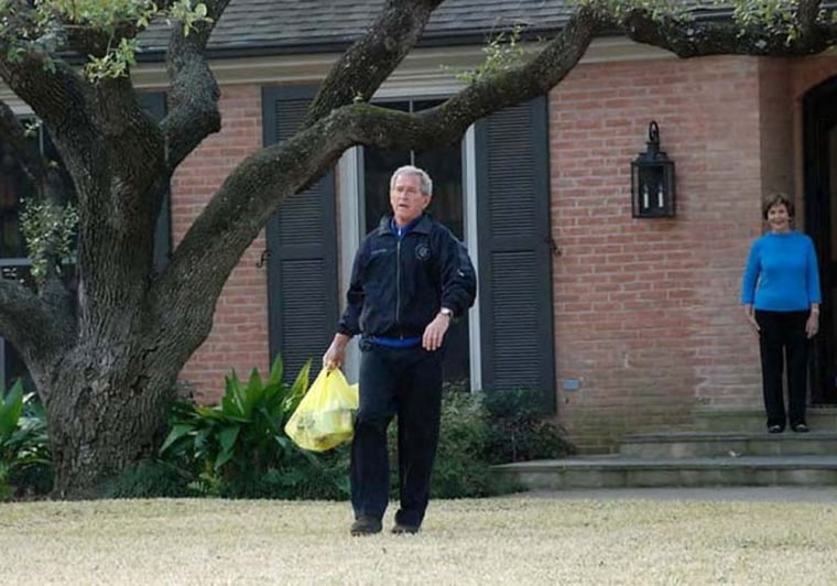 Friends say George W. Bush has struggled to slow down sincetrading the White House for an upper-class Dallas neighborhood.