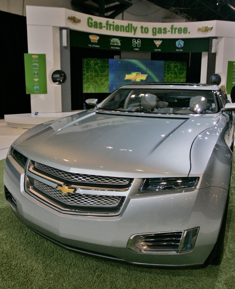 GM plans to release an extended range electric plug-in called the Chevrolet Volt in limited numbers in late 2010.