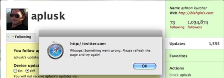 Image: Twitter screen