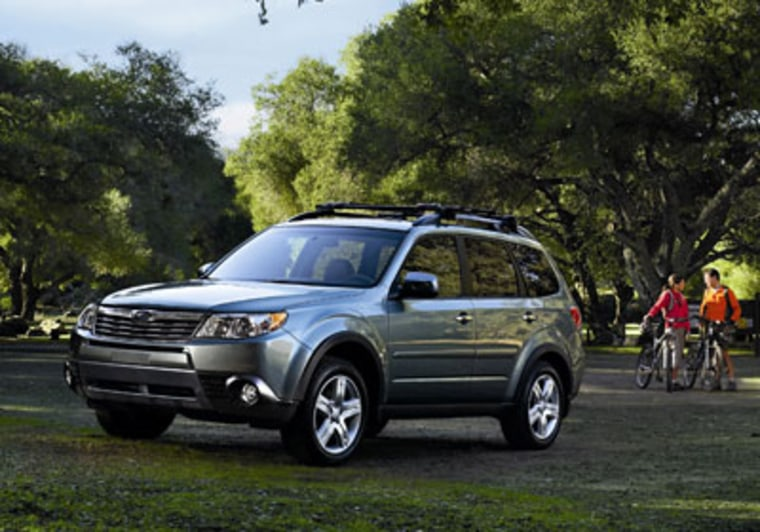 Image: The Subaru Forester