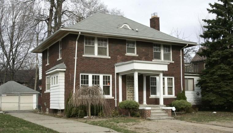 Image: The former residence of Detroit City Councilman Kwame Kenyatta