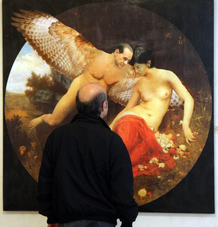 Image: Berlusconi art