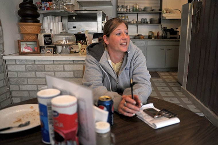 """""""I don't think it's right, but it's a little like getting married itself, you know? If you think you're going to change someone, you're wrong. So I'm better off to leave well enough alone on this,"""" says Iowa resident Jeni McCubbins."""