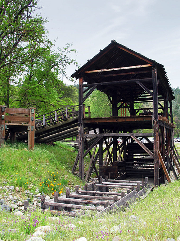 Image: Reconstruction of Sutter's Mill