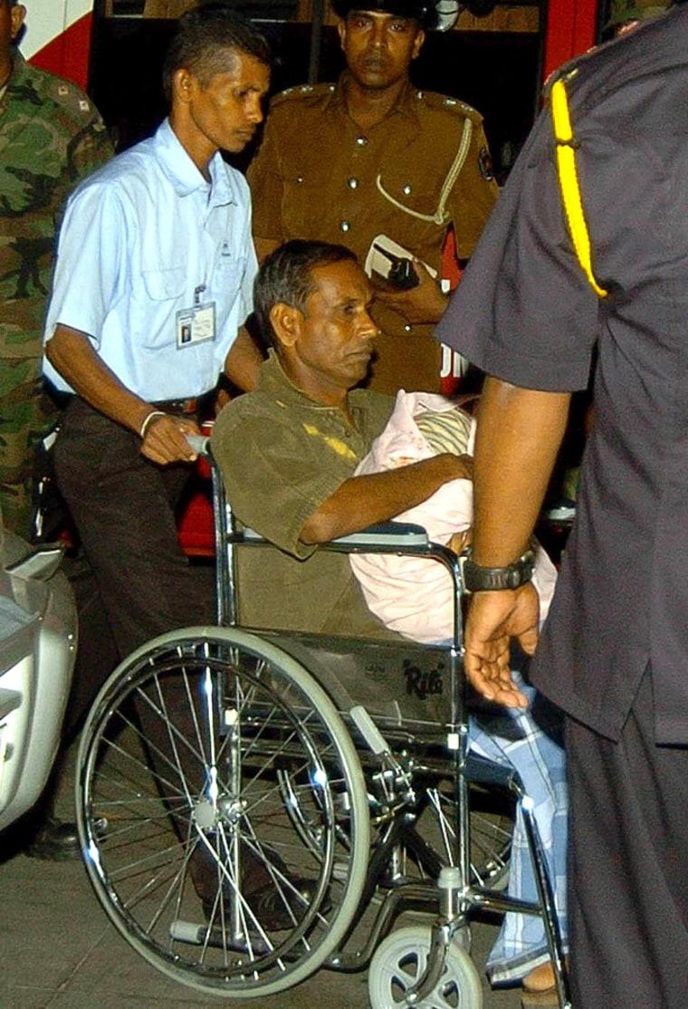 Image: Tamil Tiger spokesman Velayudam Dayanidi
