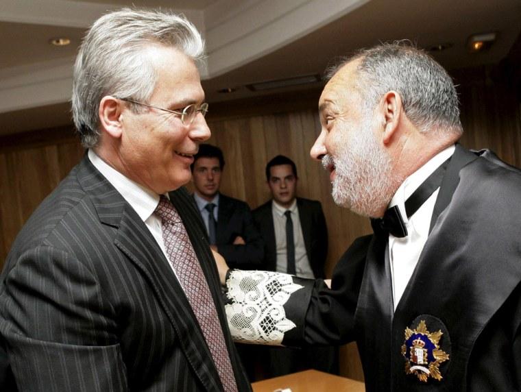 Image: Spanish judge Baltasar Garzon