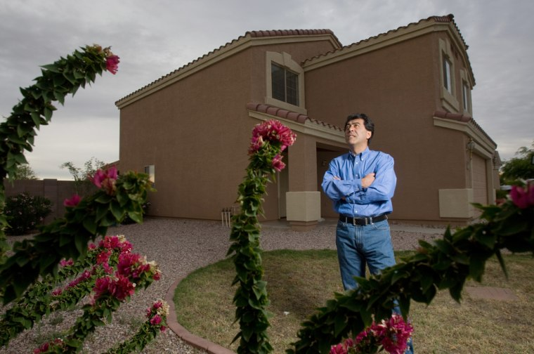 Image: New home owner in Arizona