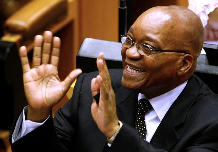 Image: ANC President Jacob Zuma