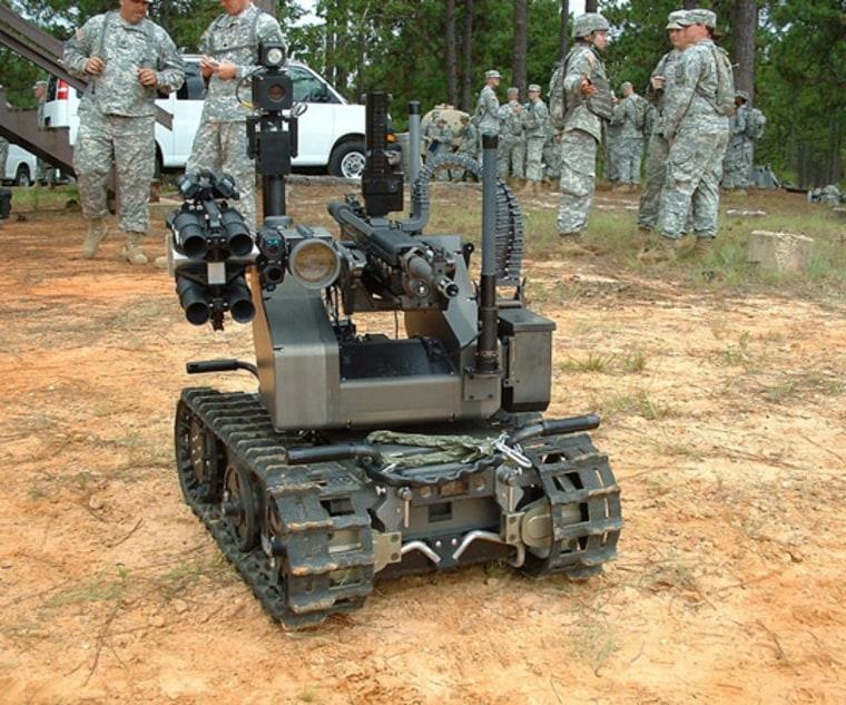 Image: Robot Warrior