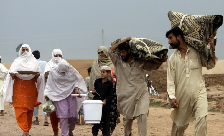 Image: Pakistan refugees