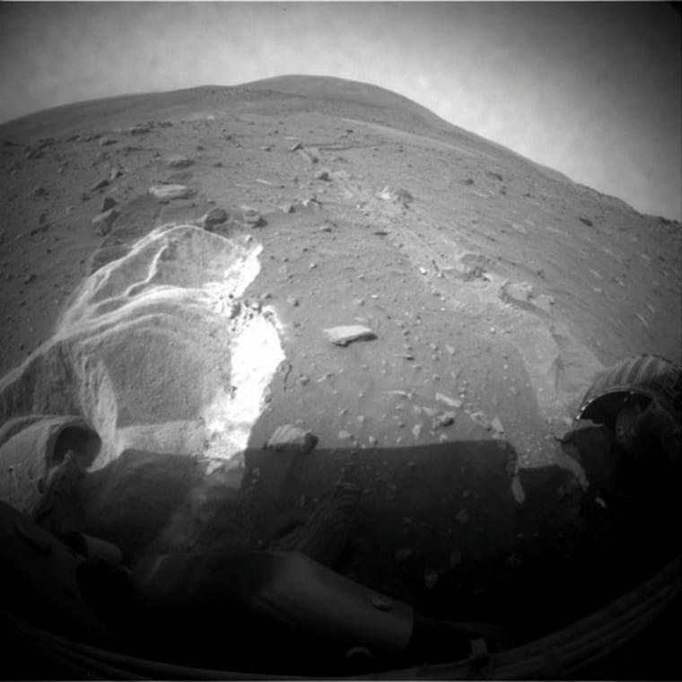 Image: NASA's Mars Rover Spirit