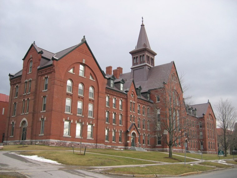 Image: UVM's Old Mill building