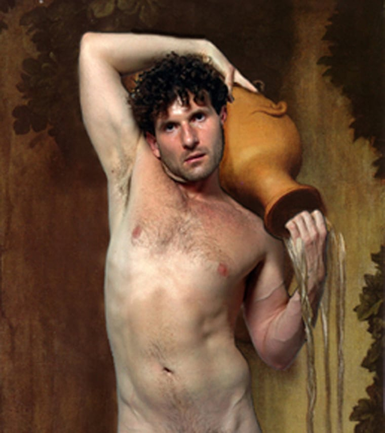 """The ultrachrome fine art printtitled""""La Source, after Ingres"""" (showhere in detail)by Gary Laird of Houston, Texas,will beon exhibitas part of the Kinsey Institute's fourth annual juried art show."""