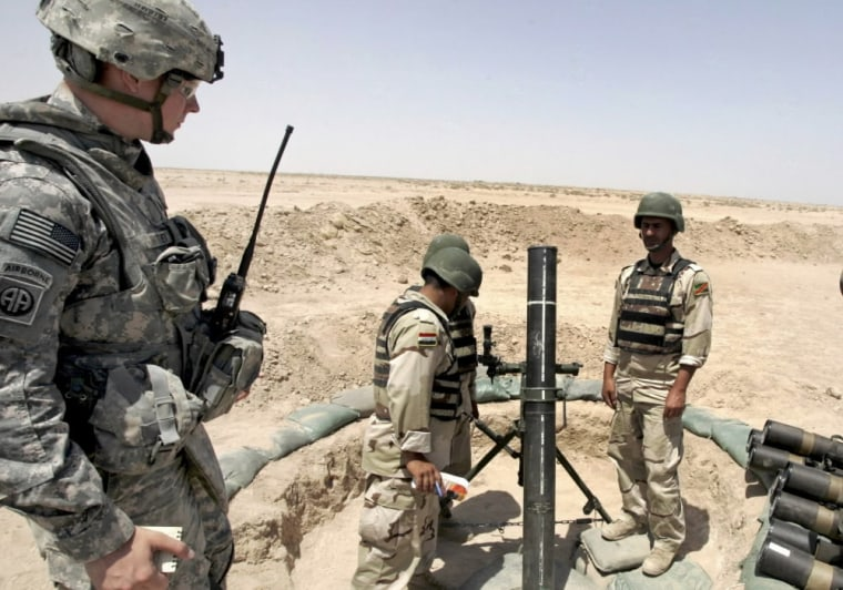 Image: Military exercise in Iraq