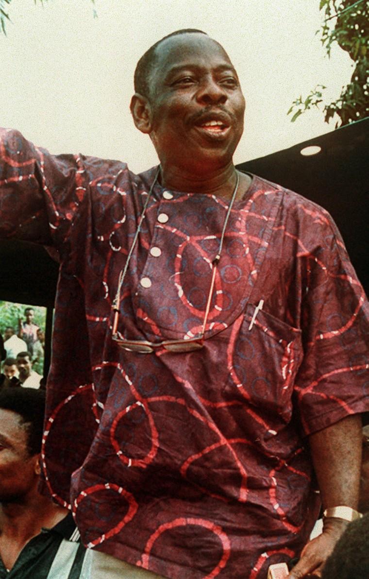Image: Slain Nigerian writer and activist Ken Saro-Wiwa