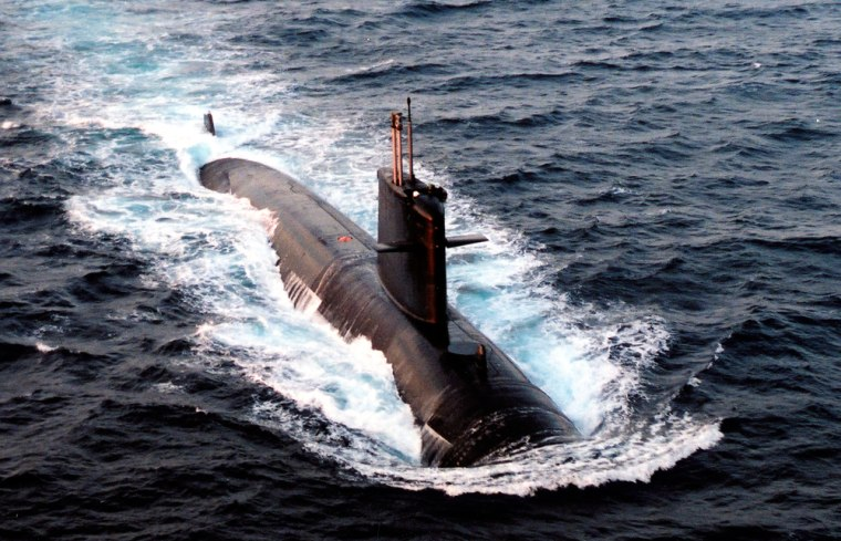 Image: The French nuclear-powered submarine Emeraude is seen in this undated file photo released June 10, 2009 by the French Defence Ministry
