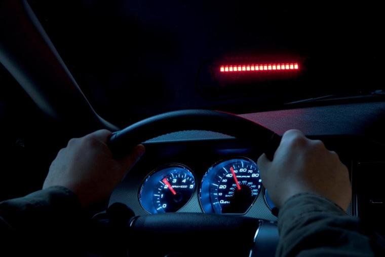 Image: Ford Taurus heads up display on windshield