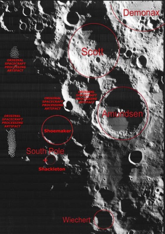 Image: Lunar Orbiter imagery