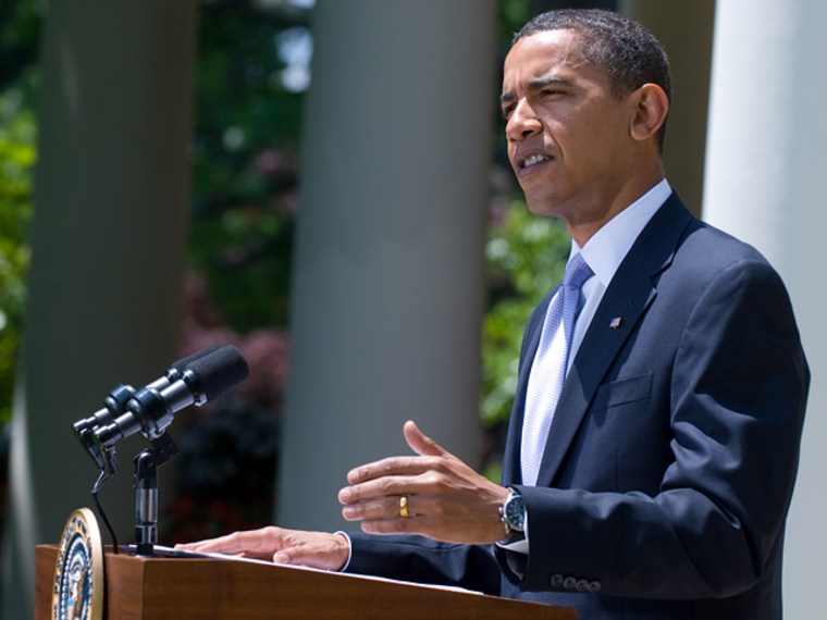 Image: Barack Obama speaks on the elections in Iran
