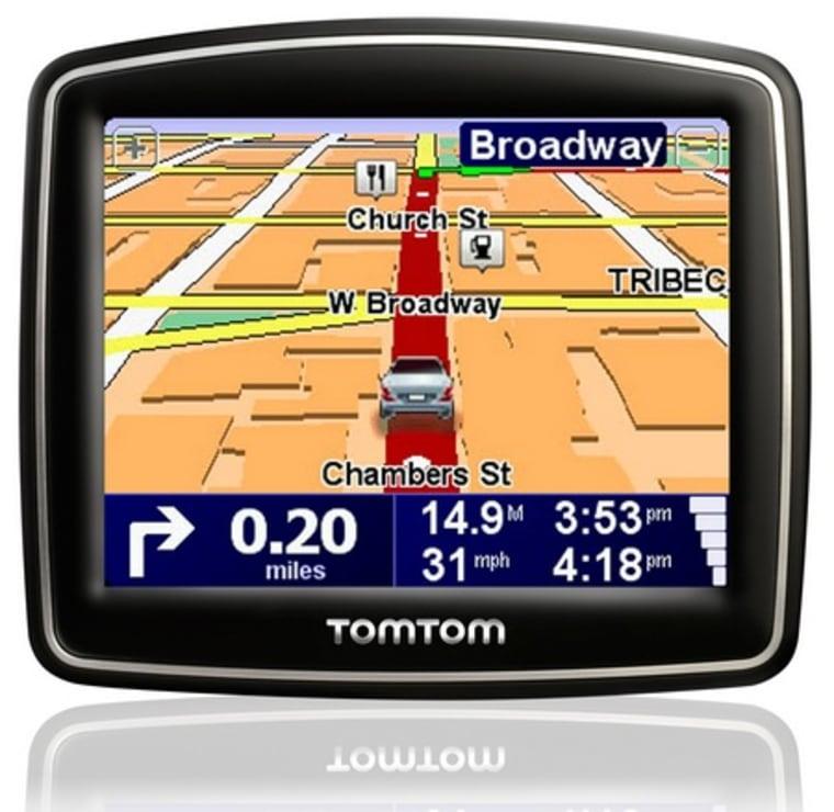 Image: TomTom GPS device