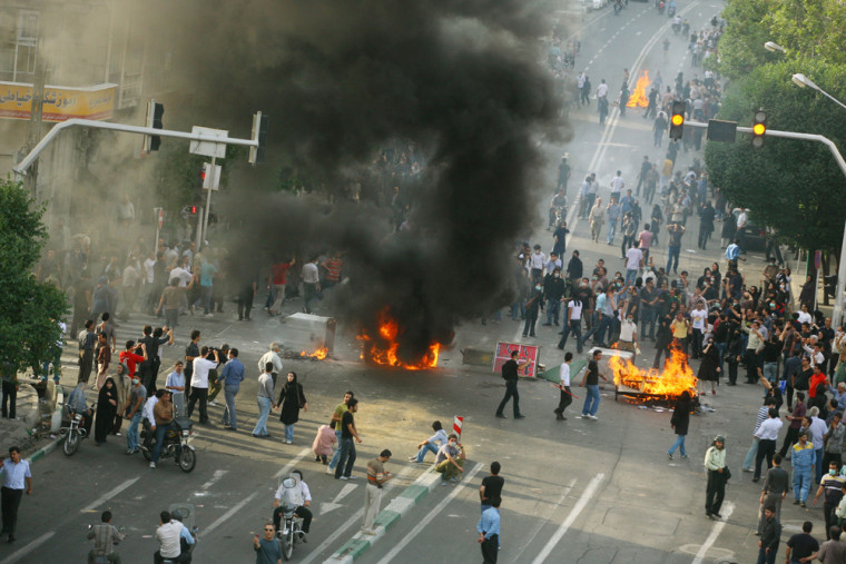 Image: Unrest Continues After Iranian Presidential Elections