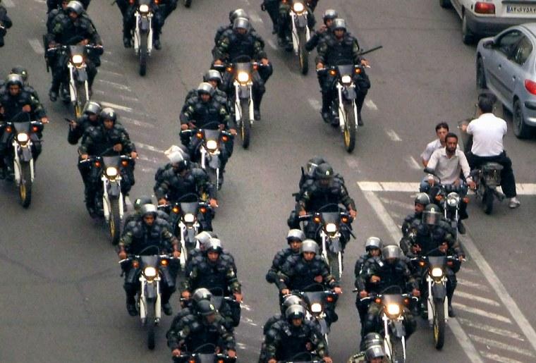 Image: Iranian police