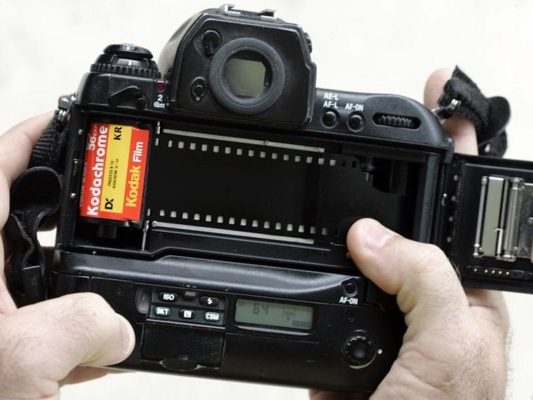 Image: roll of Kodachrome