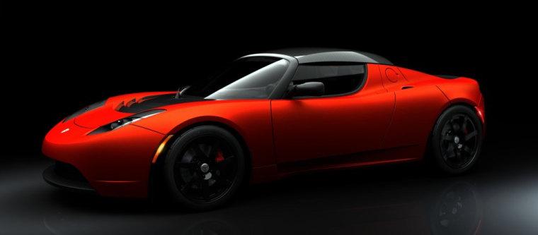 Tesla Motors Introduces Roadster Sport
