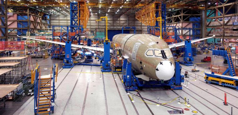Image: Boeing Dreamliner 787 delay