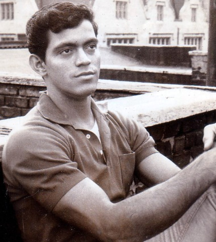 Raymond Castro seen as a young man in the 1960s.