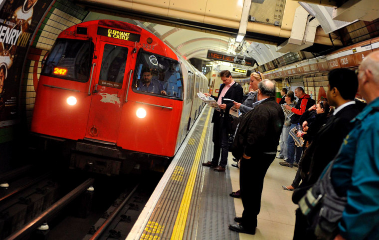 Image: London underground