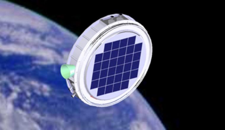 Image: Nanosatellite