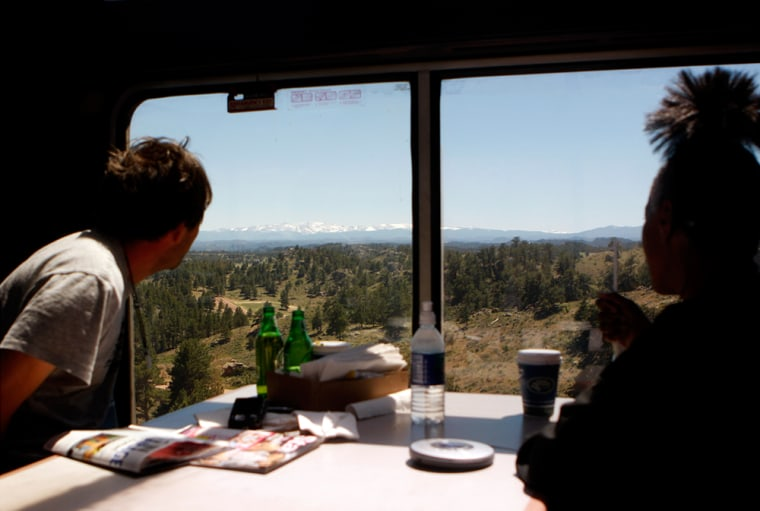 Image: View from the California Zephyr