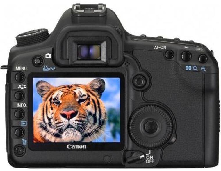 Image: Canon digital still camera