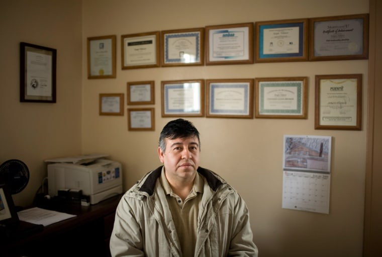 """Sergio Velasco: """"My dream was to get a good job and a better life."""""""