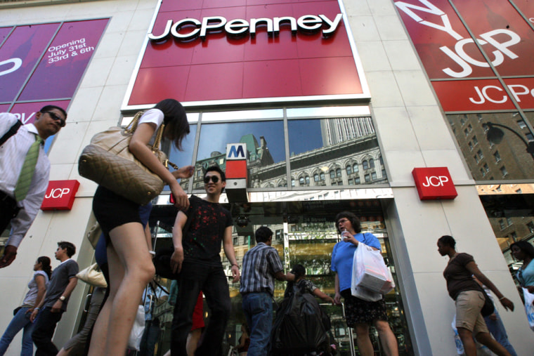 JC Penney's flagship Manhattan store is set to open July 31.