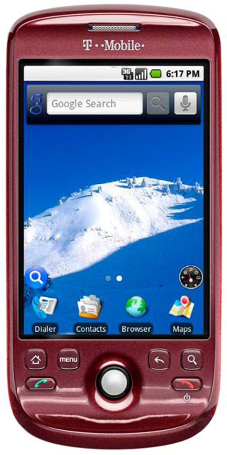 T-Mobile's myTouch 3G with Google phone ($199.99 after signing up for a new, two-year contract) is the second Android device, and is an all-touchscreen phone. It is due out Aug. 5