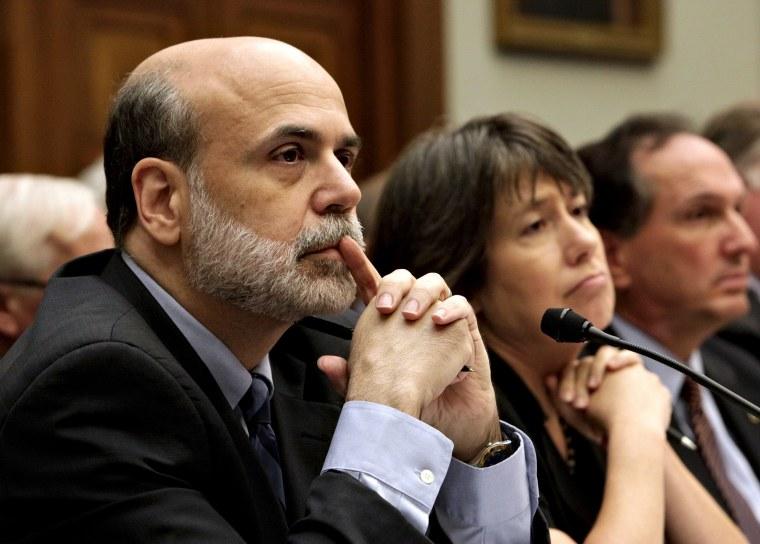 Image: Ben Bernanke, Sheila Bair, John Dugan
