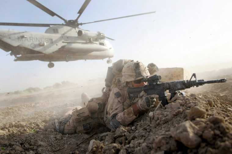 Image: U.S. Marines Continue Suppression Of Insurgents